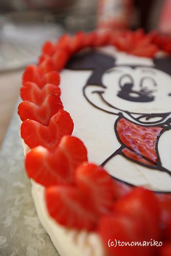 ドナルドの誕生日はミッキーで♪_c0024345_15535226.jpg
