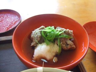 和歌山県清水の「香料理庵 紅葉(クレハ)」_e0002086_851412.jpg