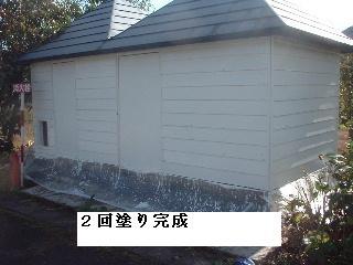 屋根塗装・・2日目_f0031037_2111444.jpg