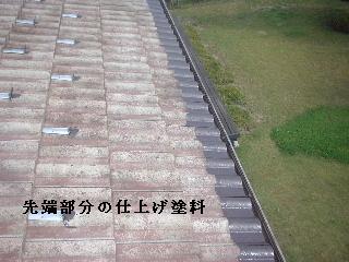 屋根塗装・・2日目_f0031037_2111525.jpg