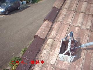 屋根塗装・・2日目_f0031037_2112318.jpg