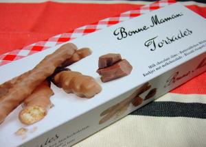 11月5日ボンヌママンのチョコかけビスケット