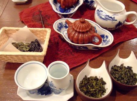 11月5日中国茶館「悟空」