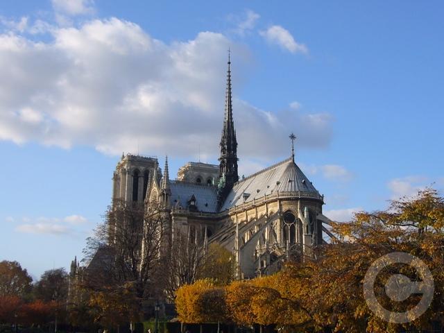 ■PHOTO秋のノートルダム(パリ)_a0008105_1002278.jpg