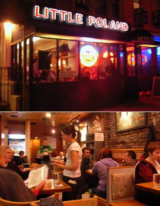 家庭の味なポーランド・レストラン Little Porland_b0007805_6153288.jpg