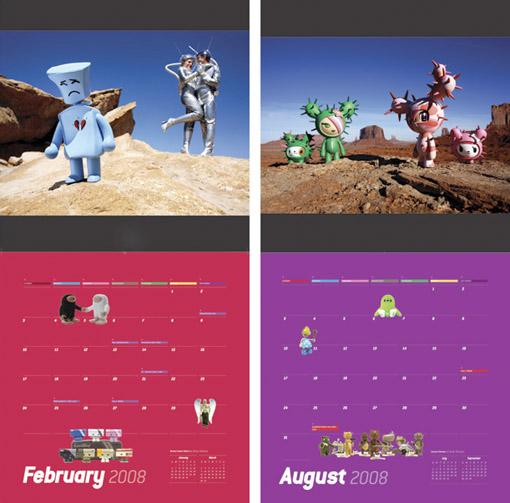 オブジェモチャ・ファンにはこちらのカレンダー。_a0077842_1385615.jpg