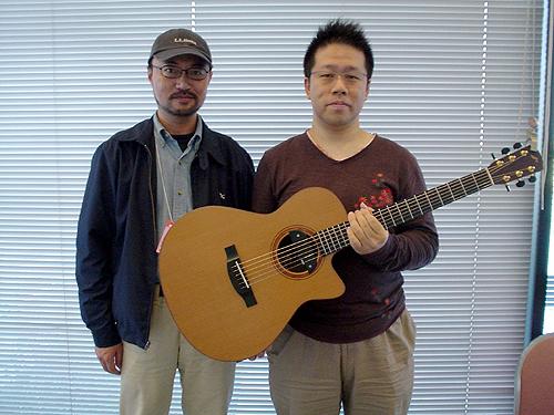 楽器フェアで南澤大介さん&中川イサトさんのライブを見て来ました_c0137404_10473035.jpg