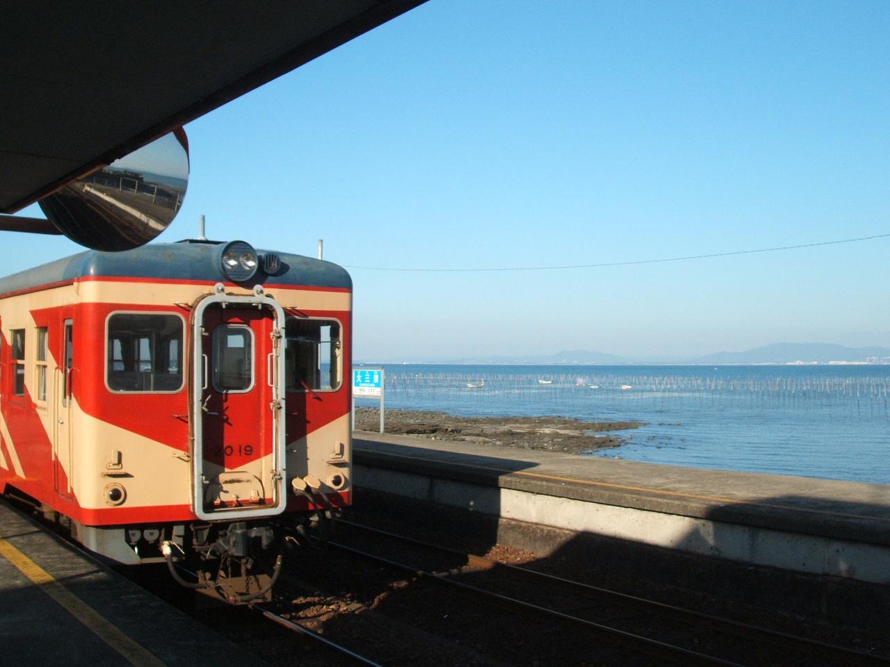 大三東駅から有明海を望む_c0052876_23504056.jpg