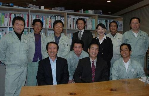 「報道ニッポン」の取材を受けました。_a0059217_9213128.jpg