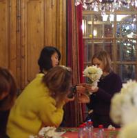 パリお花のツアー報告 VOL4 ~カトリーヌミュラーレッスン後編~_b0111306_182691.jpg