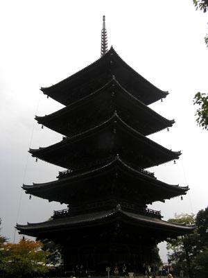 東寺 五重塔など_e0048413_1943916.jpg