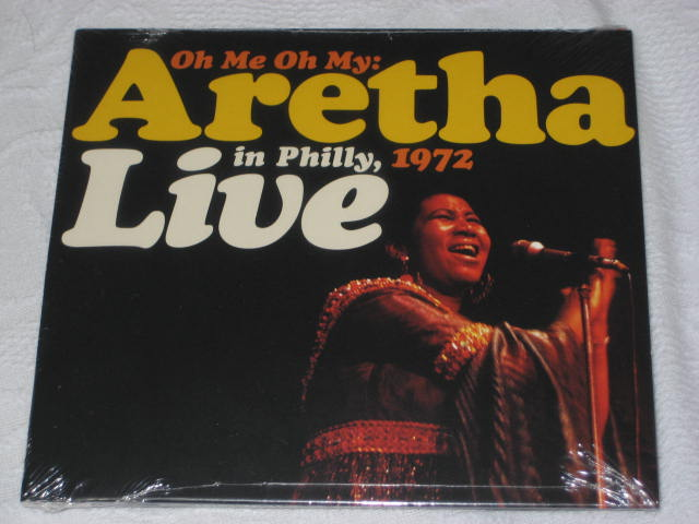 ARETHA FRANKLIN / Oh Me My : Aretha Live in Philly,1972 _b0042308_2359423.jpg