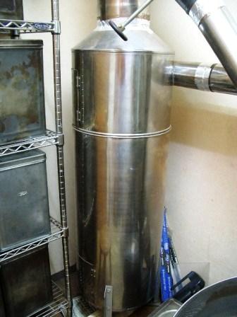 中古焙煎機売ります。・・・・直火8キロ釜ラッキー改造_c0020639_2340242.jpg