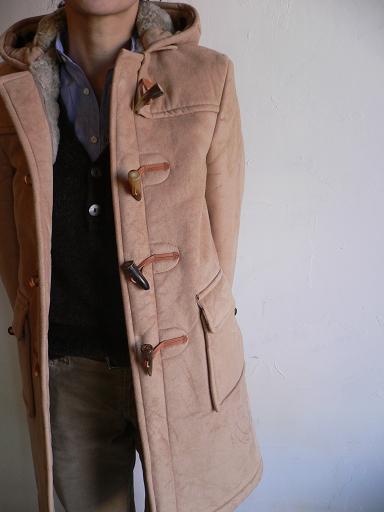 GLOVERALL Fake Mouton Duffel Coat_d0120442_13314891.jpg