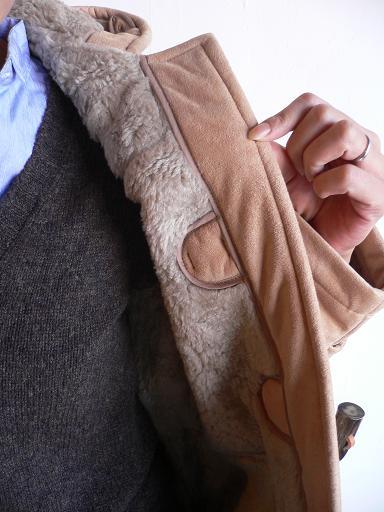 GLOVERALL Fake Mouton Duffel Coat_d0120442_13322155.jpg