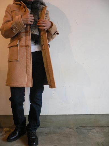 GLOVERALL Fake Mouton Duffel Coat_d0120442_13323552.jpg