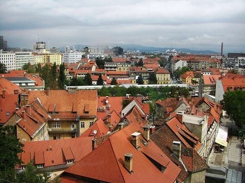 2日目(8/23):スロヴェニア 首都「リュブリャーナ」(2)_a0039199_20392183.jpg