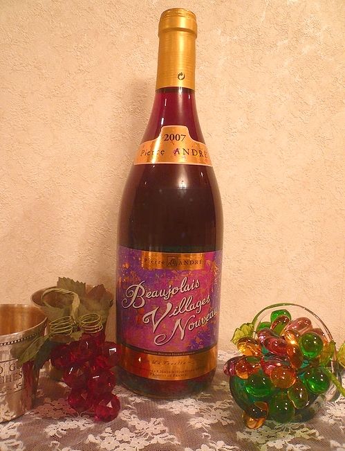 Beaujolais Nouveau 2007 ボジョレーヌーボーで乾杯 ~♪。..。.゚。*・。♬♪_a0053662_071841.jpg