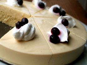 パルミジャーノのレアチーズケーキ_c0110869_1255683.jpg
