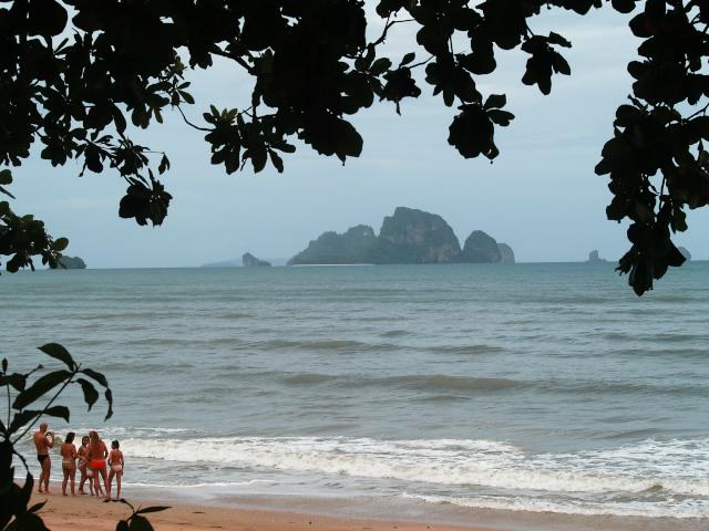 タイの風景 アオナン・ビーチに到着_f0024992_23305094.jpg