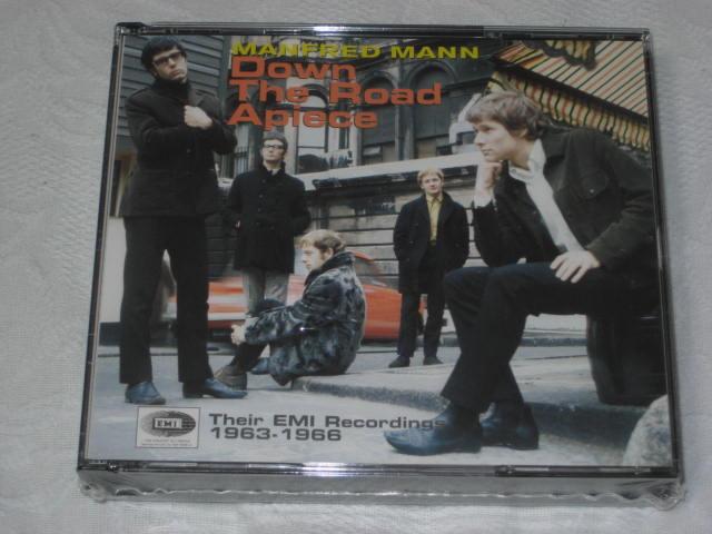 MANFRED MANN / DOWN THE ROAD APIECE 〜 Their EMI Recordings 1963-1966 〜_b0042308_0205089.jpg