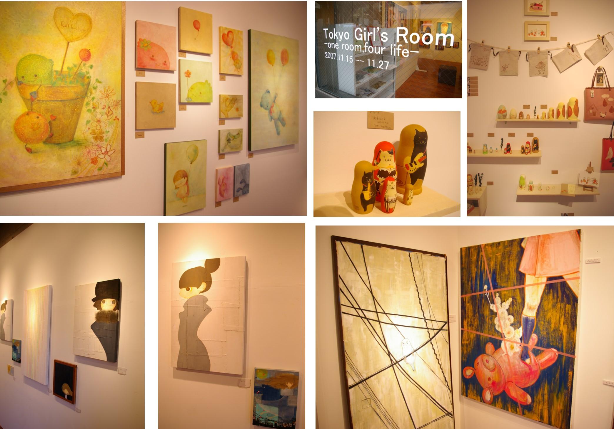 「Tokyo Girl\'s Room -one room,four life-」_a0104621_187934.jpg