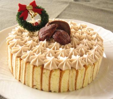 11/18(日)今年のクリスマスケーキ_d0031682_23372259.jpg