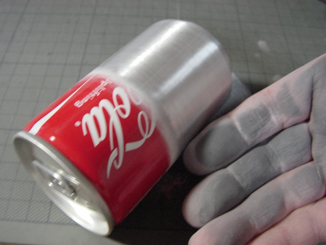 アルコールストーブを磨こう // 缶の塗膜研磨_f0113727_521527.jpg