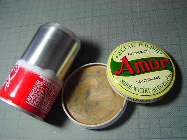 アルコールストーブを磨こう // 缶の塗膜研磨_f0113727_59586.jpg