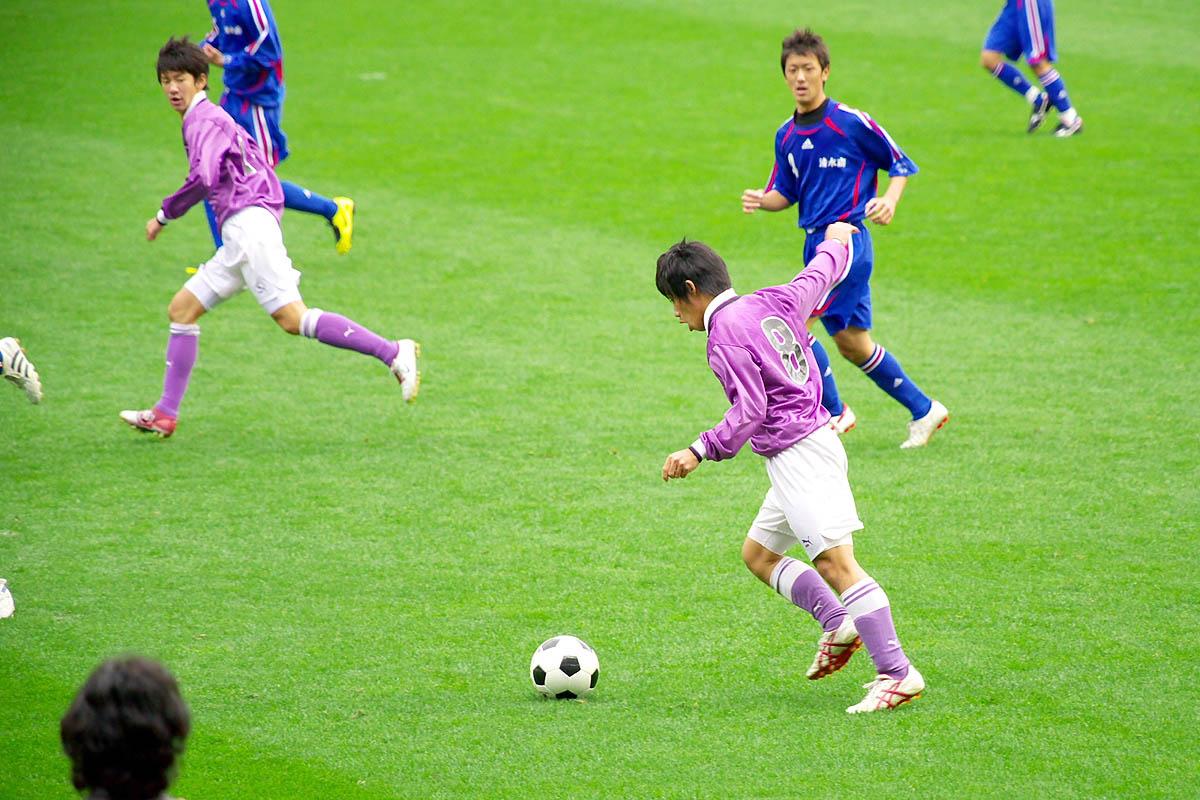 第86回 全国高校サッカー選手権大会 静岡 準決勝_f0007684_1834675.jpg