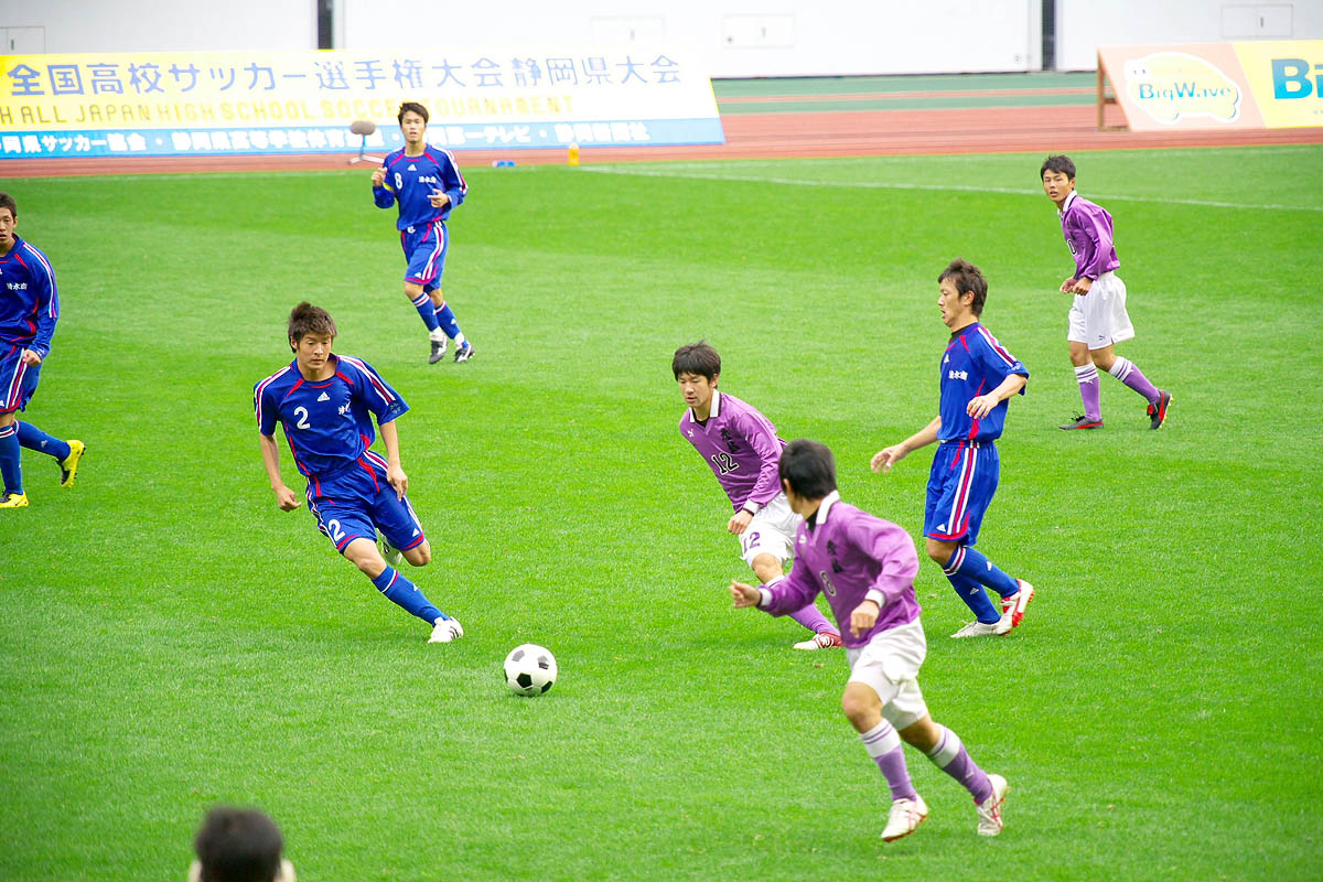 第86回 全国高校サッカー選手権大会 静岡 準決勝_f0007684_183548.jpg