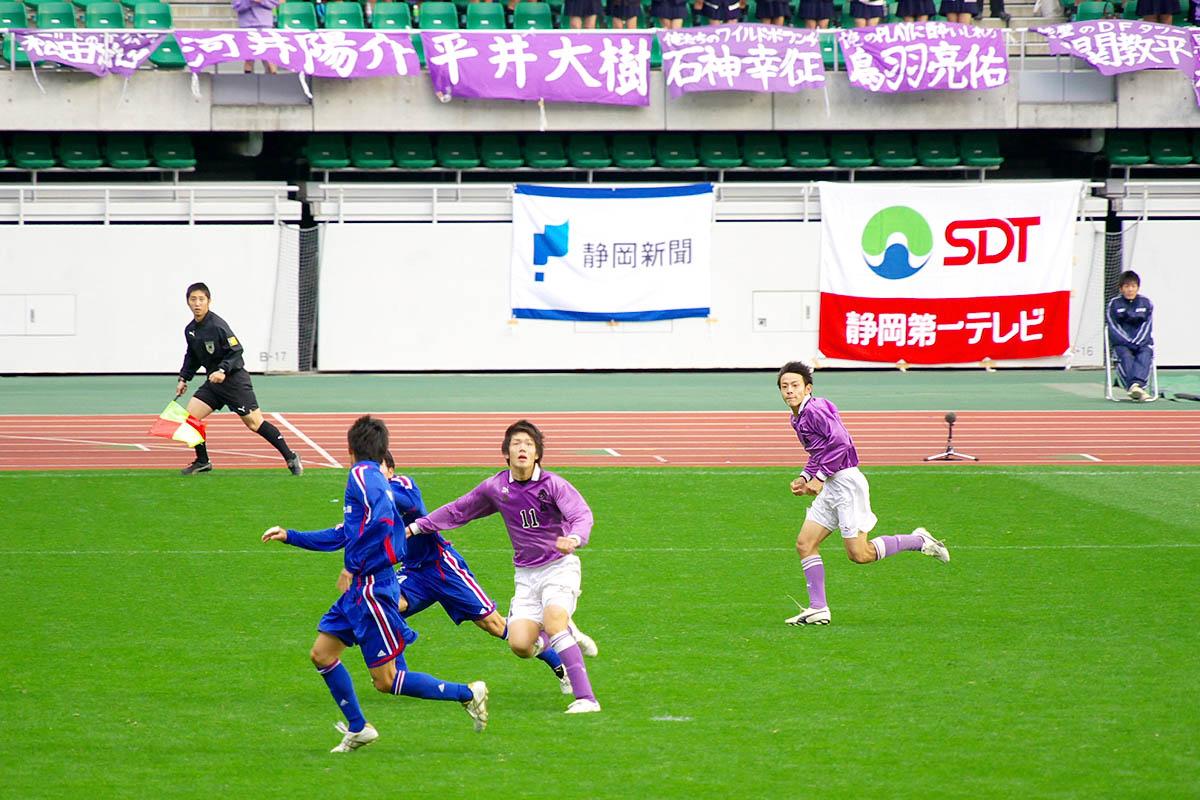 第86回 全国高校サッカー選手権大会 静岡 準決勝_f0007684_1835991.jpg