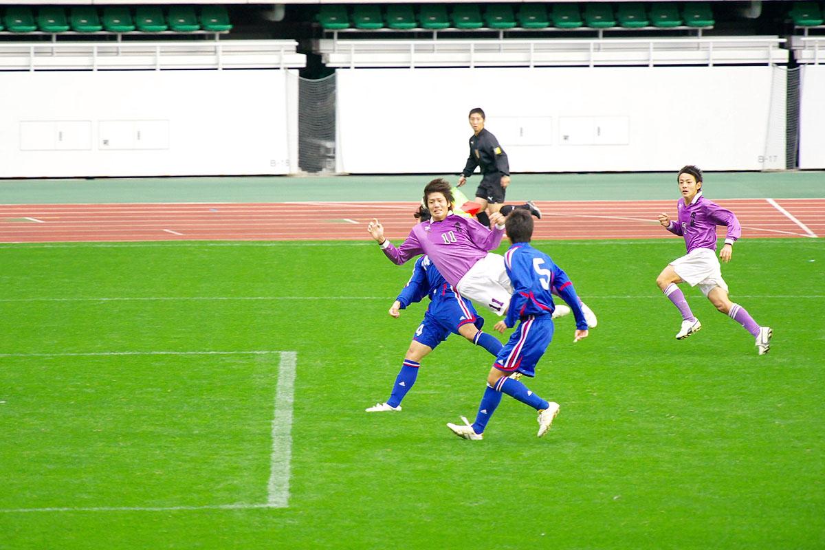 第86回 全国高校サッカー選手権大会 静岡 準決勝_f0007684_1845544.jpg