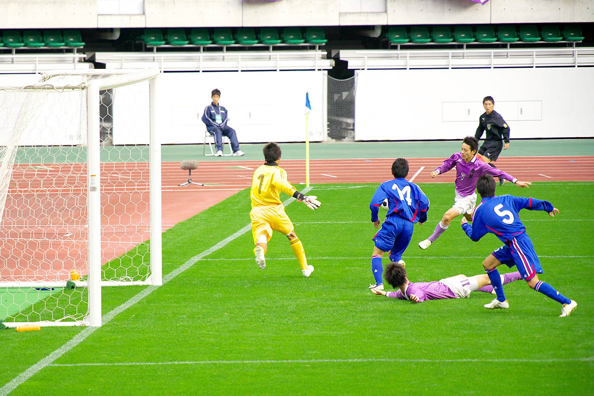 第86回 全国高校サッカー選手権大会 静岡 準決勝_f0007684_1862476.jpg