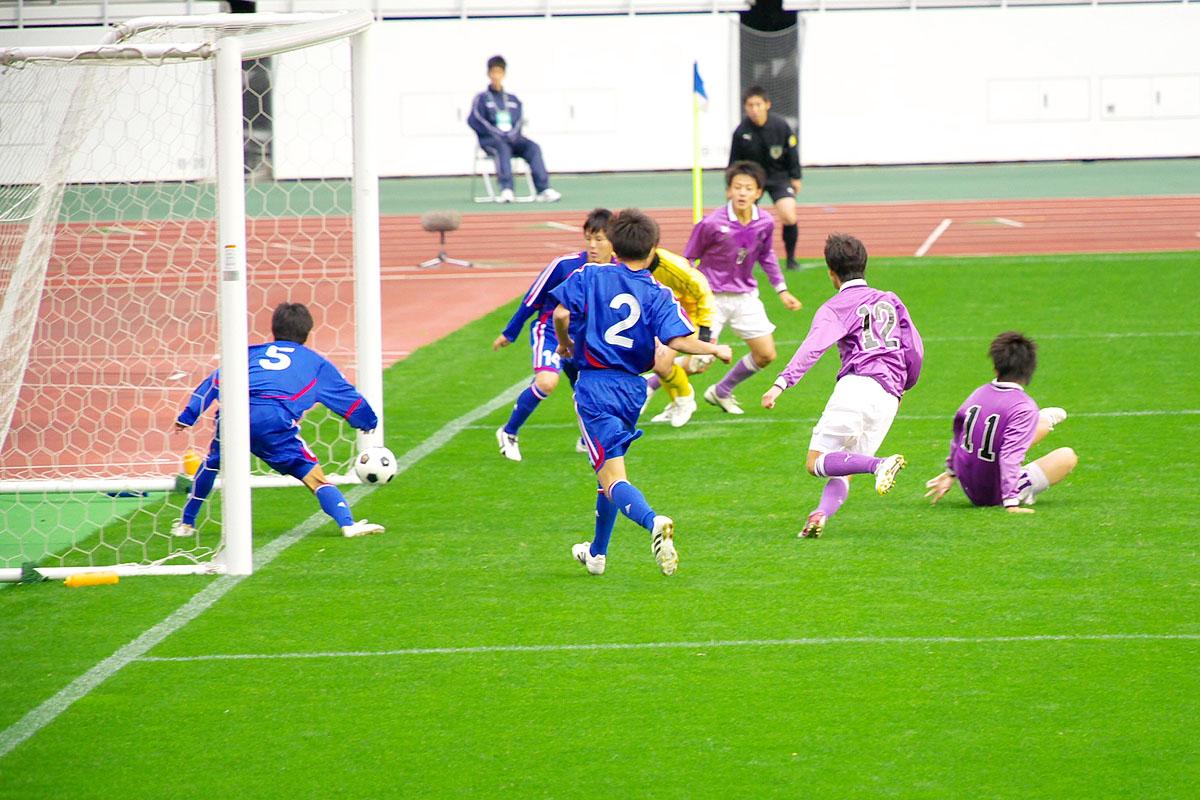 第86回 全国高校サッカー選手権大会 静岡 準決勝_f0007684_186362.jpg