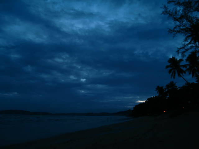 タイの風景 網を曳く男_f0024992_933327.jpg