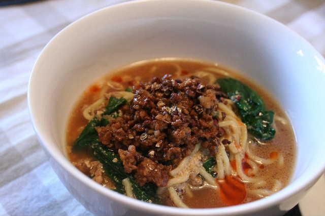 料理教室―坦々麺、棒々鶏、胡麻団子。。_f0141419_511273.jpg