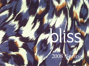 bliss 2008 Spring カタログ ★ byChie_f0053343_21514025.jpg