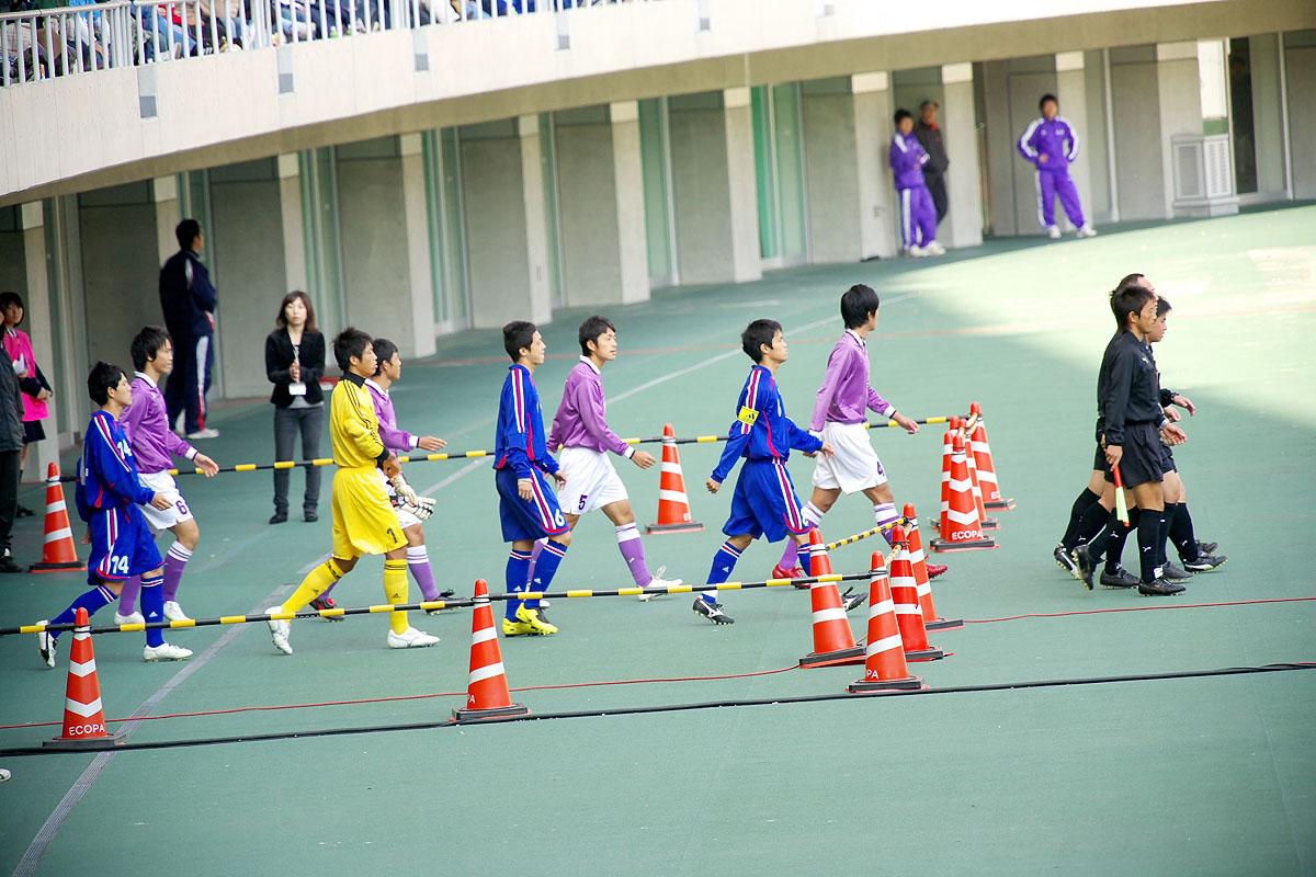 第86回 全国高校サッカー選手権大会 静岡 準決勝_f0007684_1414411.jpg