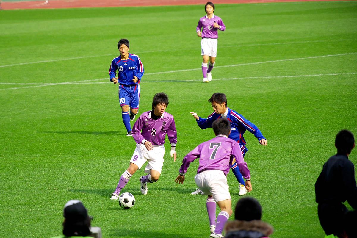 第86回 全国高校サッカー選手権大会 静岡 準決勝_f0007684_146528.jpg