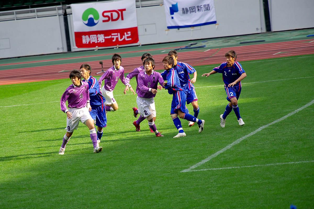 第86回 全国高校サッカー選手権大会 静岡 準決勝_f0007684_1472295.jpg