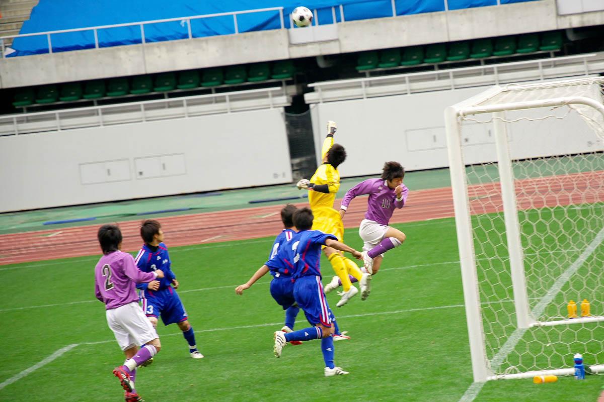 第86回 全国高校サッカー選手権大会 静岡 準決勝_f0007684_1473412.jpg