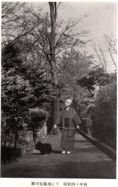 「墓地の散歩」 湯浅芳子_f0035084_394896.jpg