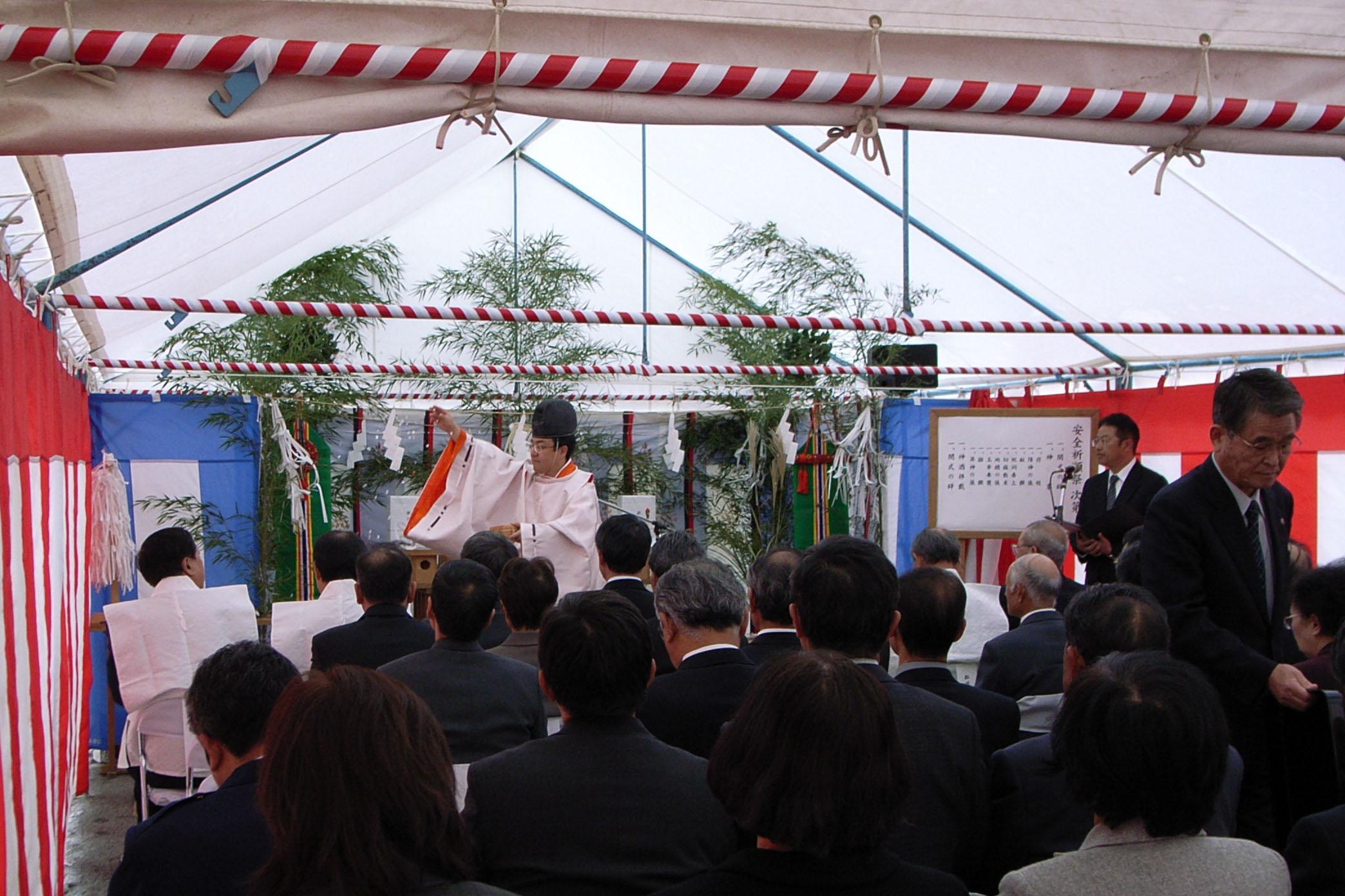 松川村多目的交流センターの起工式が行われました_d0097795_17275284.jpg