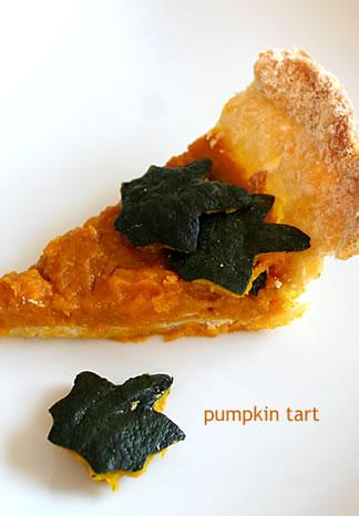かぼちゃのタルト_d0124248_14144898.jpg