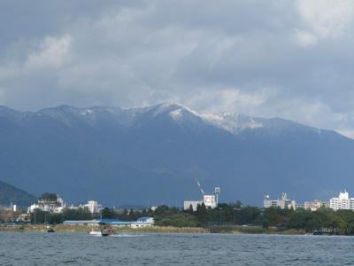 今日はヒサビサに琵琶湖に出ました。_a0097491_2123282.jpg