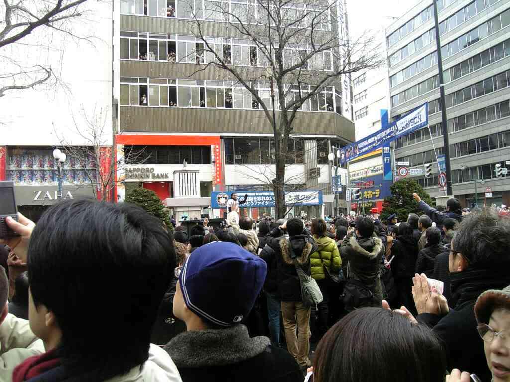 日本ハム優勝パレード_c0095835_2244329.jpg