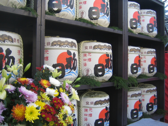 毎年恒例初日さんの酒蔵開き_e0078359_10274330.jpg