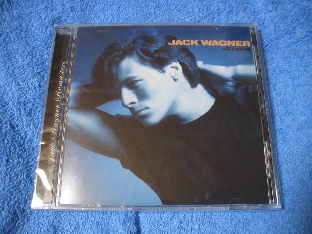 JACK WAGNER / ALL I NEED _c0065426_18165325.jpg