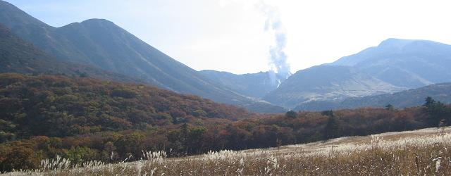 """""""豊後名山""""秋景(その4)・・・三俣山、硫黄山、星生山_c0001578_0163926.jpg"""